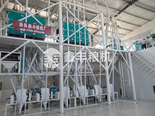 50吨级面粉机组