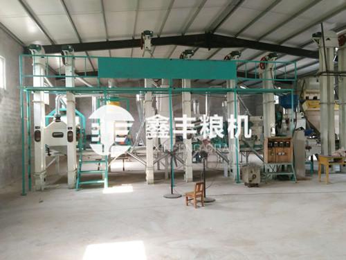 30吨级小米加工机械
