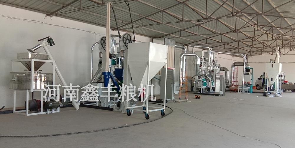 甘肃庆阳面粉机械安装案例