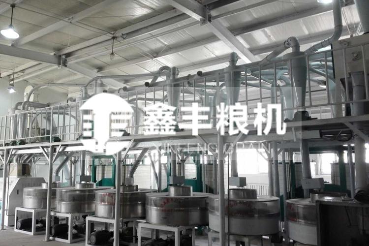如今我国石磨面粉机械厂家的实力