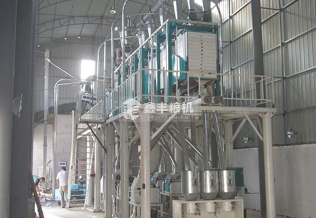 40吨级面粉机组