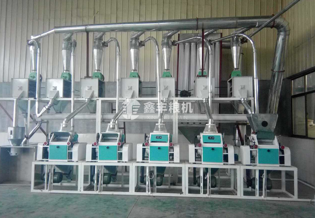 5组面粉机械设备